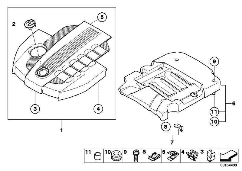 Abdeckung Akustik  X5 X6  (11147798374)