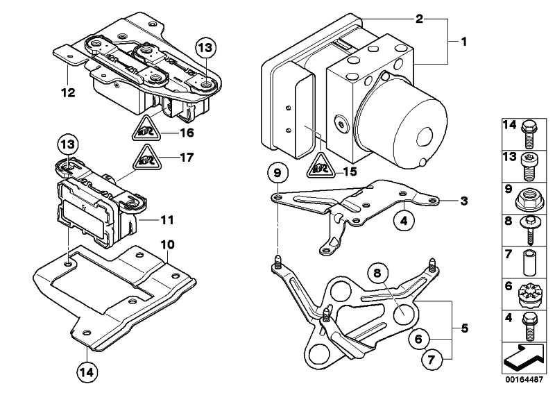 Reparatursatz Steuergerät DSC  1er 3er  (34506777161)