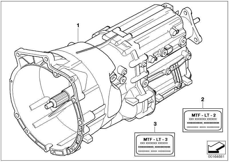 Austausch 6 Gang Getriebe GS6-53DZ - THGU 3er  (23007571420)