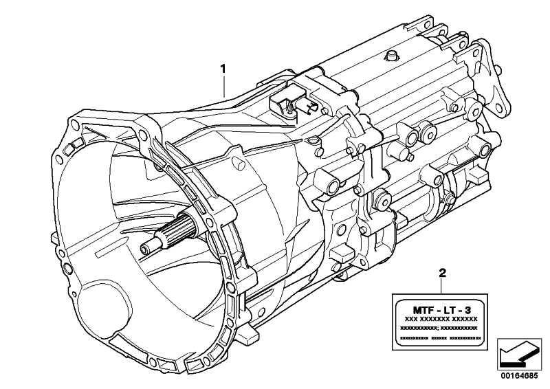 Austausch 6 Gang Getriebe GS6-37DZ - TJEF 1er 3er 5er  (23007561767)