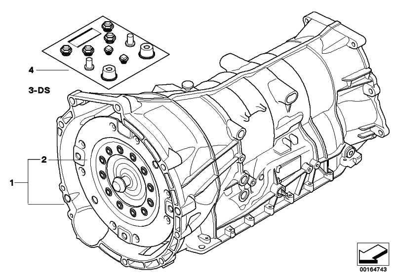 Austausch Automatikgetriebe EH GA6HP19Z        X3  (24007590158)