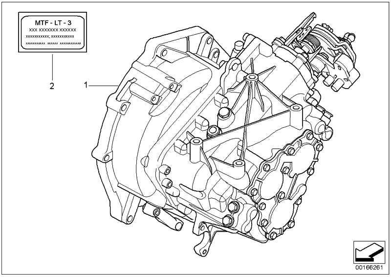 AT-6 Gang Getriebe mit Sperrdifferential GS6-85BG - TBKL MINI  (23007574848)