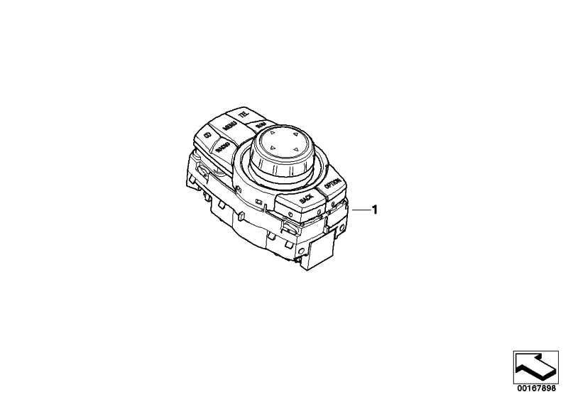 Controller  1er 3er X1 X5 X6  (65829249439)