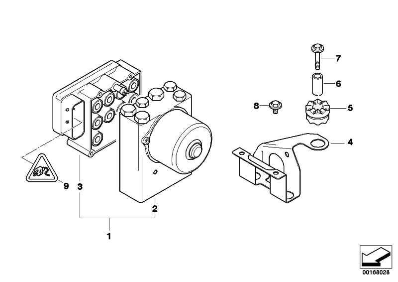 Reparatursatz Hydroaggregat  3er Z3  (34511164970)