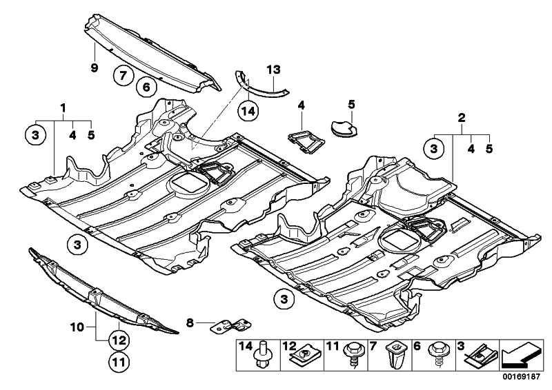 Motorraumabschirmung  1er  (51717059384)