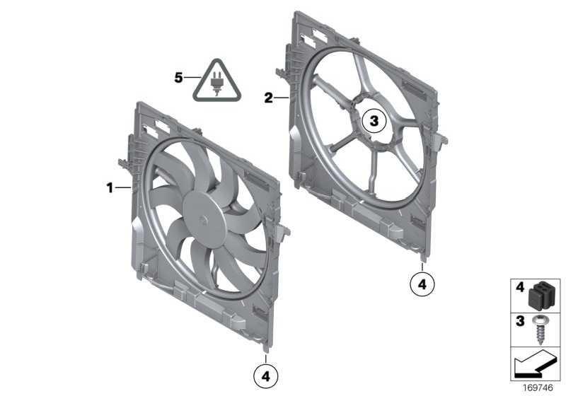 Lüfterzarge mit Lüfter 850W X5 X6  (17428618242)