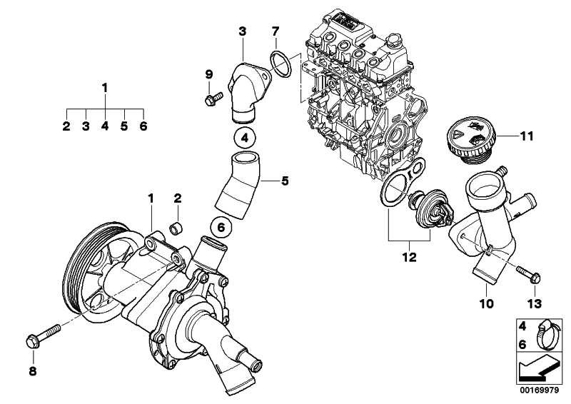 Kühlmittelpumpe mechanisch  MINI  (11517513062)