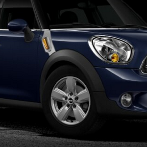 MINI Alufelge 5-Star Air Spoke silber 140 6,5J x 16 ET 46 Vorderachse / Hinterachse MINI Countryman R60 MINI Paceman R61