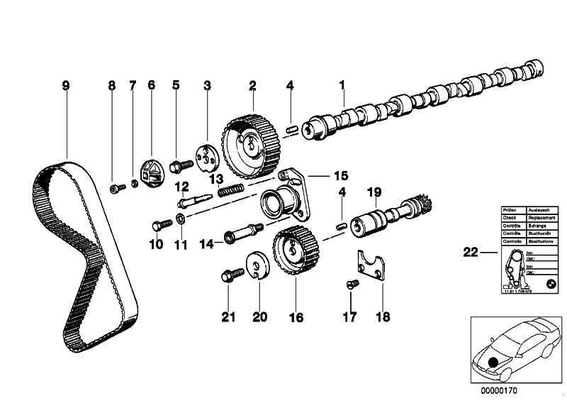 Spannrolle  3er 5er Z1  (11311711153)