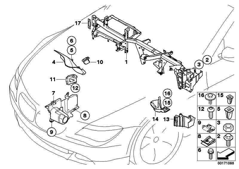 Abdeckung Lenkgetriebe rechts  5er 6er  (51717127252)