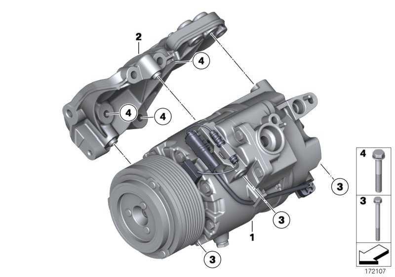 Klimakompressor  1er 3er 4er 5er 6er 7er X5 X6  (64529217868)