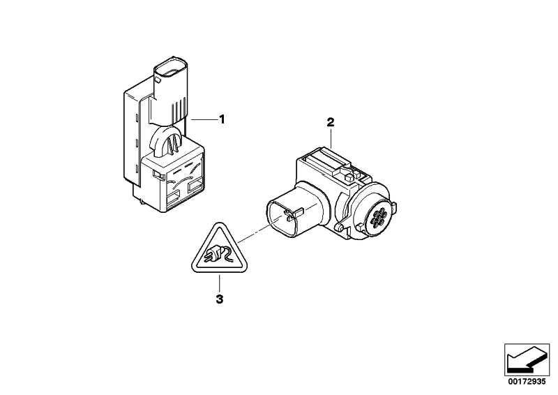 Sensor für AUC  5er 6er 7er  (64116933052)