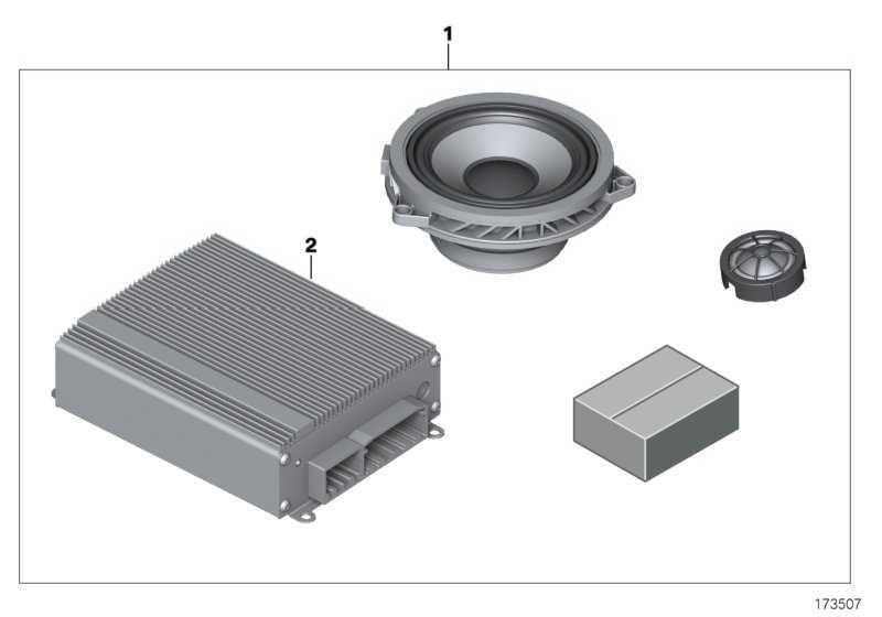 Audio-Verstärker  MINI  (65412153319)