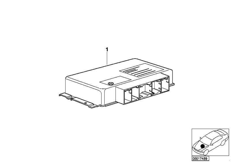 AT-Grundsteuergerät EGS GS8.60.4        3er 5er Z4  (24607548312)