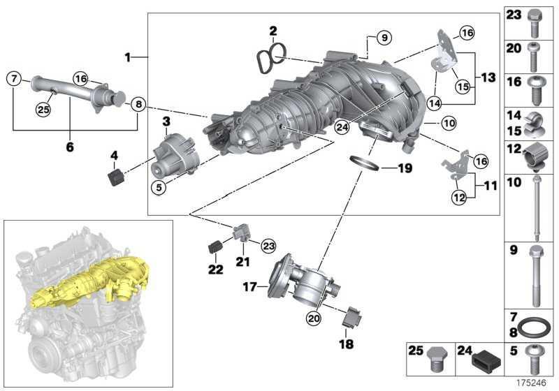 Befestigungselement M6X76           1er 3er 5er X1 X3  (11617801439)