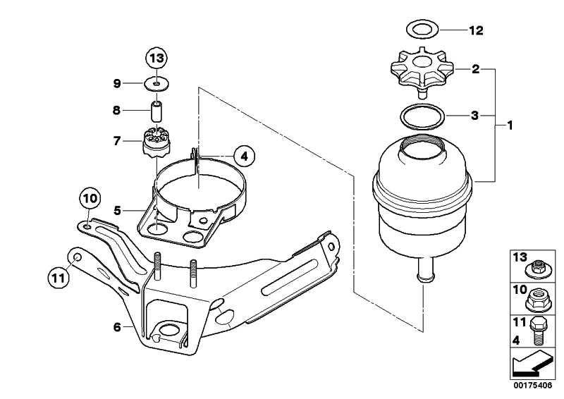 Halter Ölbehälter  3er 1er  (32416765408)