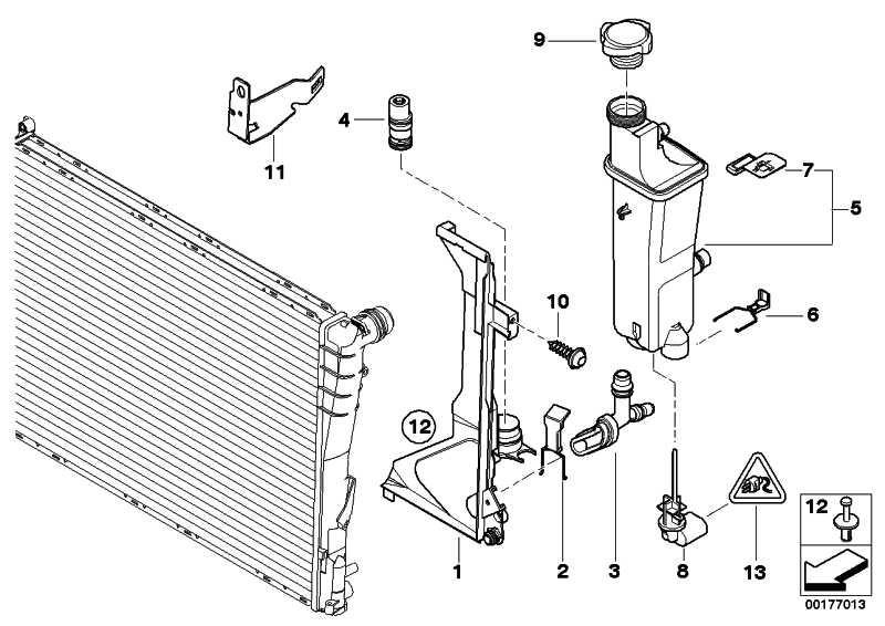 Ausgleichsbehälter  3er X5  (17117573780)