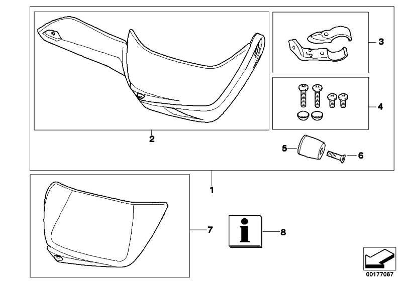 Satz Klemmung Handschutz links   (46637705267)
