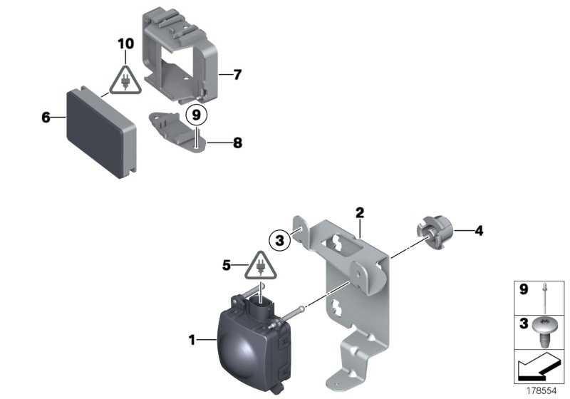 ACC-Sensor 2  7er  (66316790171)