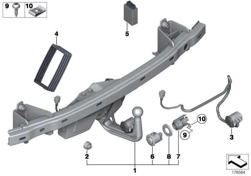 Halter Schalter Anhängerkupplung  7er  (71606776289)