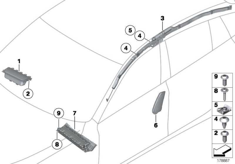 Airbagmodul Beifahrerseite  5er  (72129230398)