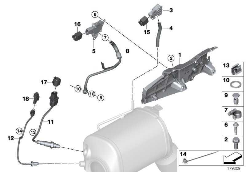 Abgastemperatursensor  1er 2er 3er 4er 5er 6er 7er X1 X3 X4 X5 X6  (13627805606)