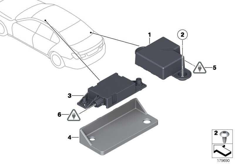 Bluetooth Antenne  7er Z4 X1 5er X3 MINI  (84109142092)