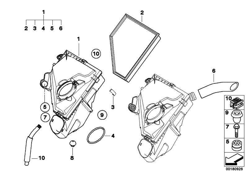 Gummilager  1er 3er X1  (13718511972)