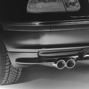 BMW Sport-Nachschalldämpfer für 3er E46 320i, 325i, 330i (mit M54-Motor)