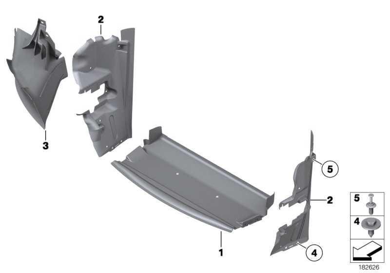 Luftführung Motorölkühler rechts  Z4  (51747903727)