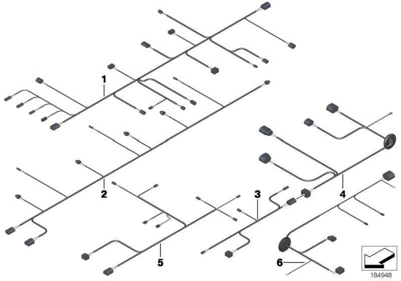 Kabelsatz PDC vorne  5er  (61129241694)