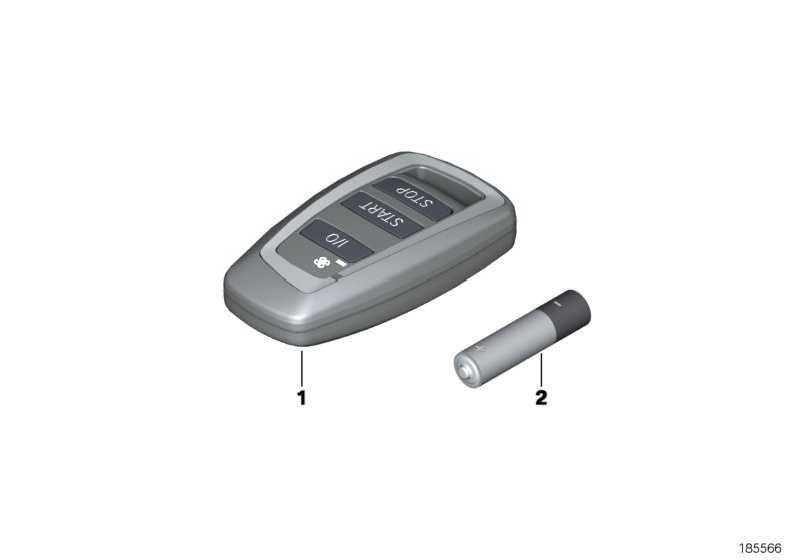 Handsender Telestart  5er 6er 7er X3  (61319245066)