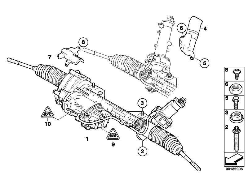 Austausch Lenkgetriebe elektrisch  3er 1er X1  (32106872479)