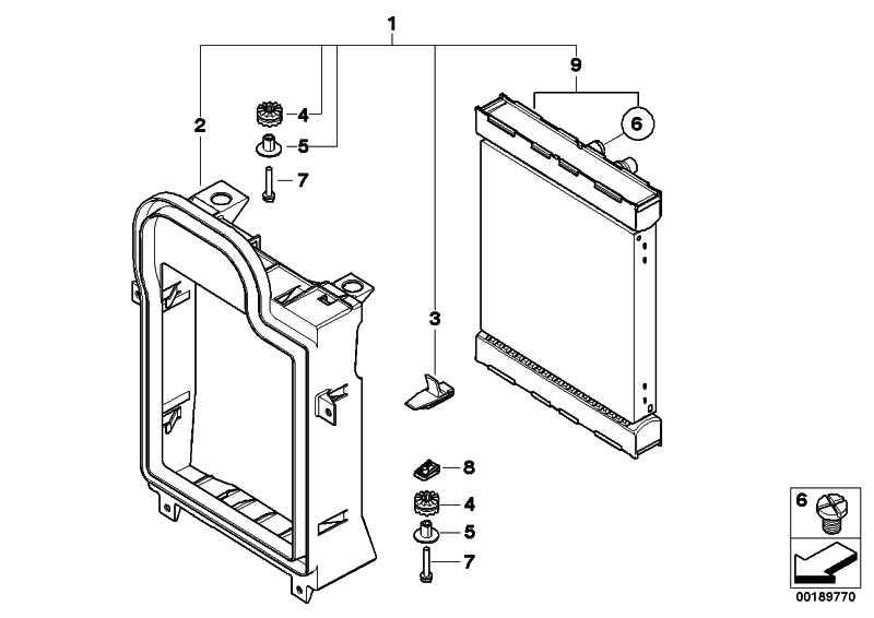 Kühlmittelkühler  X5 X6  (17117533477)