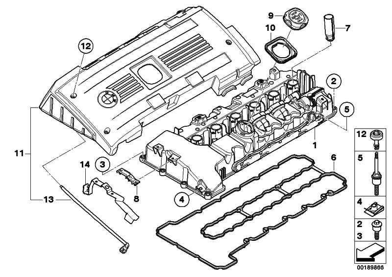 Zylinderkopfhaube  1er 3er 7er X6 Z4  (11127565284)