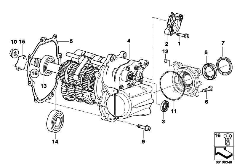 6 Gang Getriebe schwarz   (23007726370)