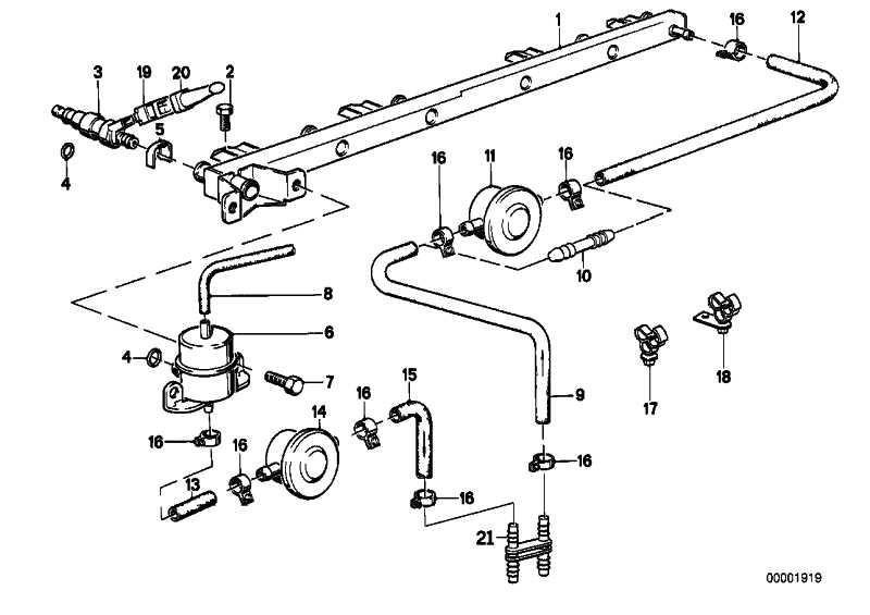 Kraftstoffschlauch 8X13MM          3er 5er 7er 8er X5 Z3 Z8  (13537563456)