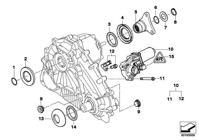 Satz Stellmotor  X5 X6  (27107568267)