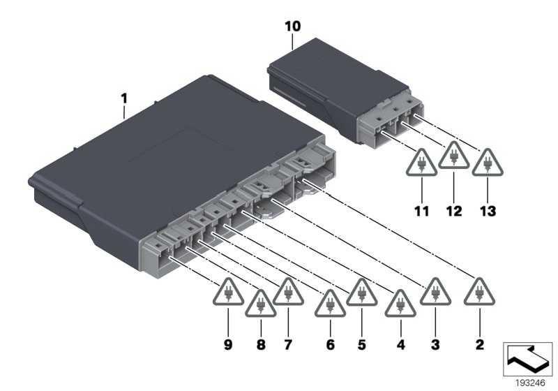 Sitzmodul  1er 3er 5er 6er 7er X3  (61359280916)