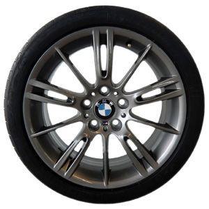 BMW Alufelge M Sternspeiche 193 8J x 18 ET 34 Ferricgrey Vorderachse BMW 3er E90 E91 E92 E93