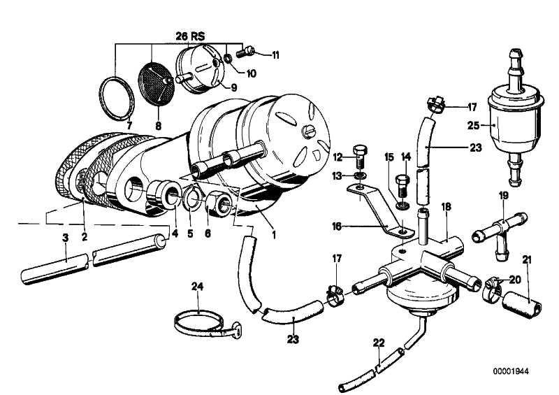 Kraftstoffpumpe  3er  (13311276392)