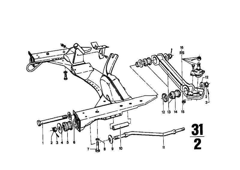Sechskantschraube M16X1,5X186       (07119914873)