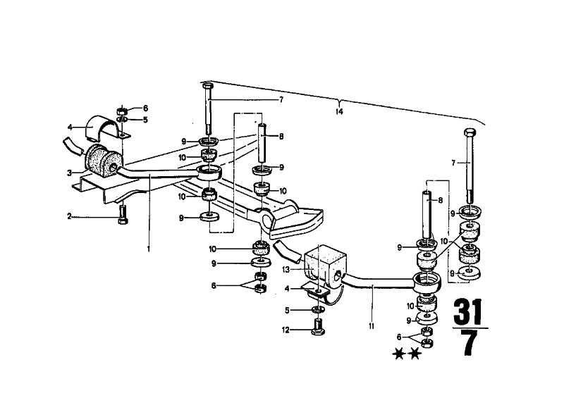 Stabilisator D=16MM            (33553454000)