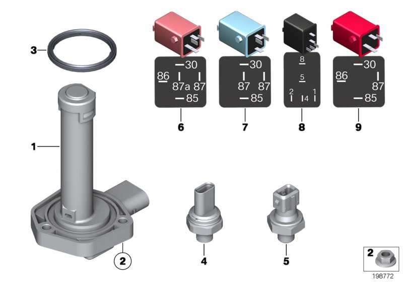 Öldrucksensor  1er 2er 3er 4er 5er 6er 7er X3 X4 X5 X6 MINI  (12617592532)