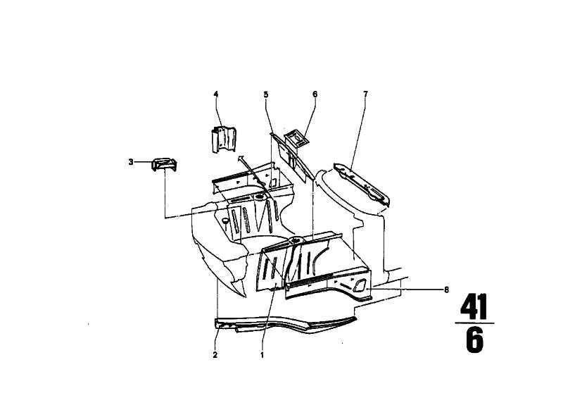 Motorträger links    (41111840967)