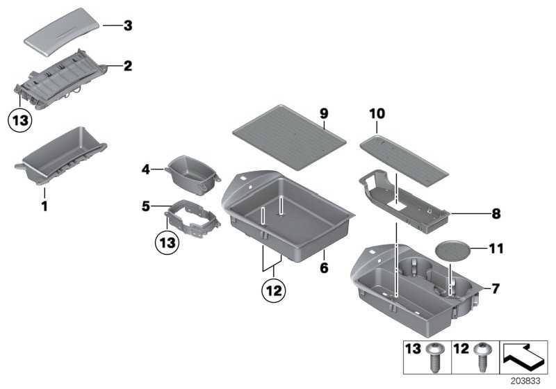 Ablagefach Cupholder Mittelkonsole SCHWARZ         Z4  (51169181226)