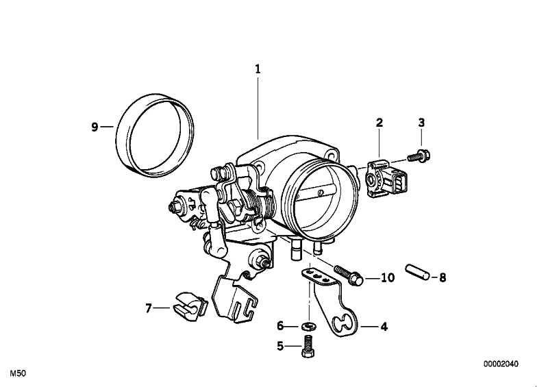 Drosselklappenschalter ASC+T           3er 5er  (13631730691)