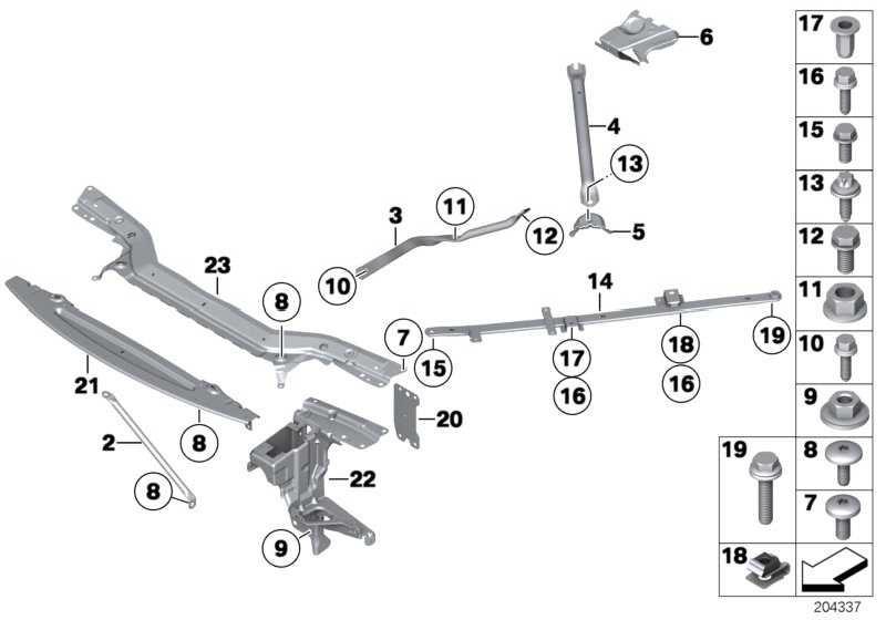 Diagonalstrebe vorne links  1er 3er Z4  (51617135647)