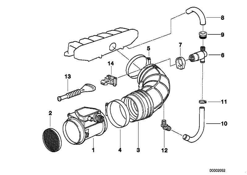 Heissfilmluftmassenmesser 4-POL           3er 5er 7er  (13621747155)