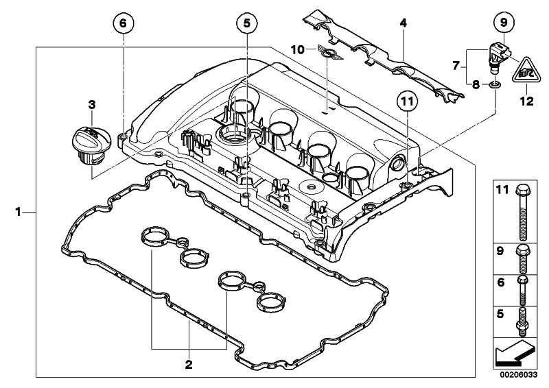 Zylinderkopfhaube  MINI  (11127646555)